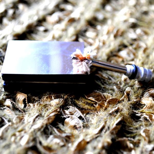 Огниво - Брелок для выживания. Уникальная многоразовая спичка, в виде стальной пляшки.