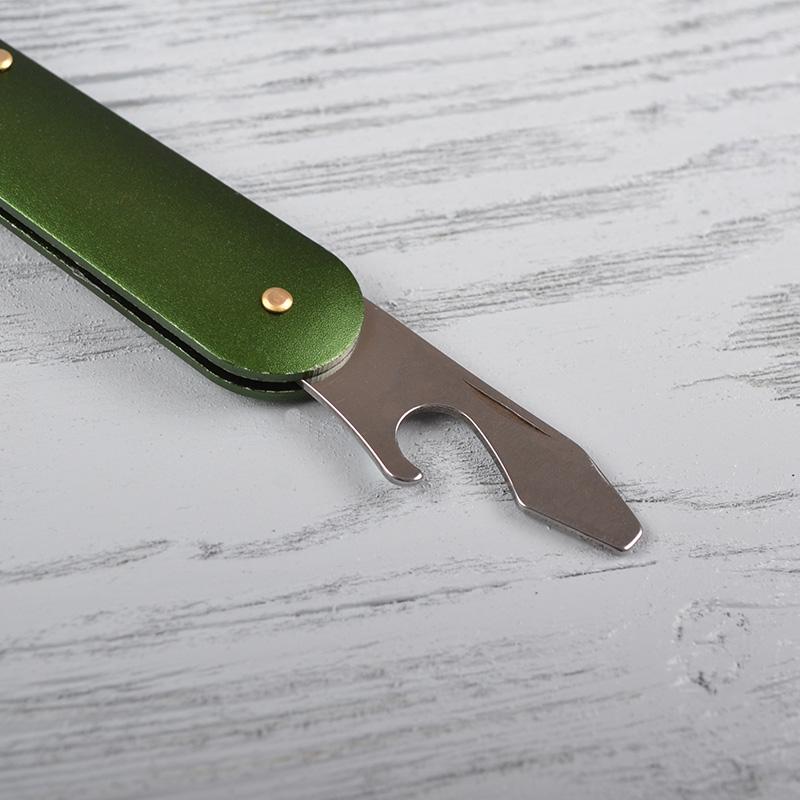 Переносной столовый набор для туризма (3 прибора - нож, вилка и ложка), в чехле