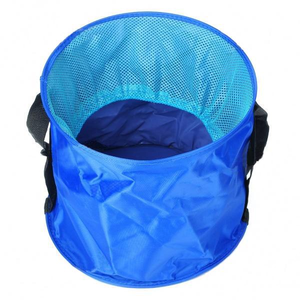 Ведро складное для воды (6 литров), синее