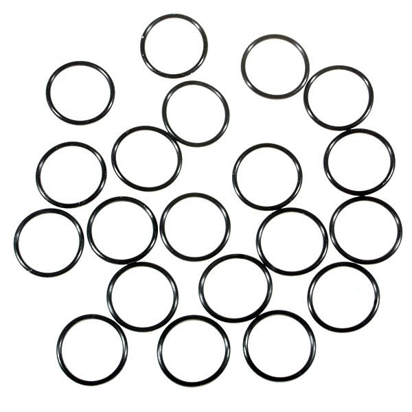 Водонепроницаемые уплотнительные кольца для фонарей (19 x 1.5mm), черные