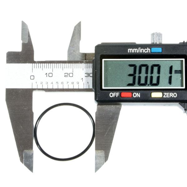 Водонепроницаемые уплотнительные кольца для фонарей (30 x 1.5mm), черные