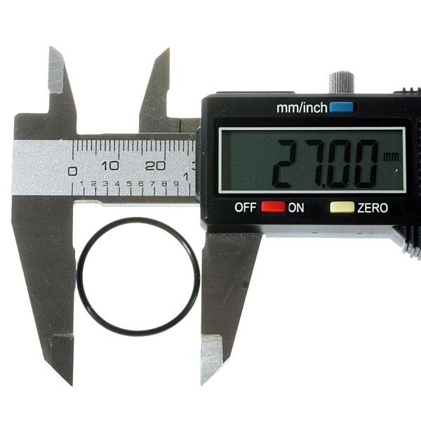 Водонепроницаемые уплотнительные кольца для фонарей (27 x 1.5mm), черные