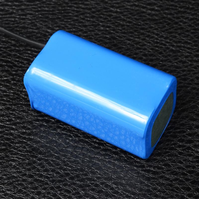 Внешний аккумуляторный блок для велофар 4.2V (4x18650)