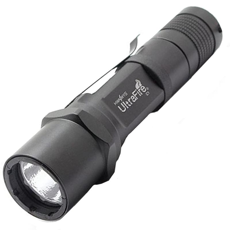 Тактический светодиодный фонарь UltraFire C1-Crown (XM-L T6, 510 Лм. 1 режим)