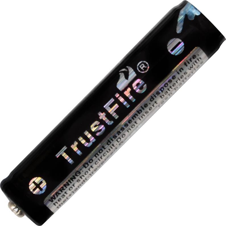 Аккумулятор литиевый Li-Ion 10440 TrustFire 3.7V (600mAh), защищенный