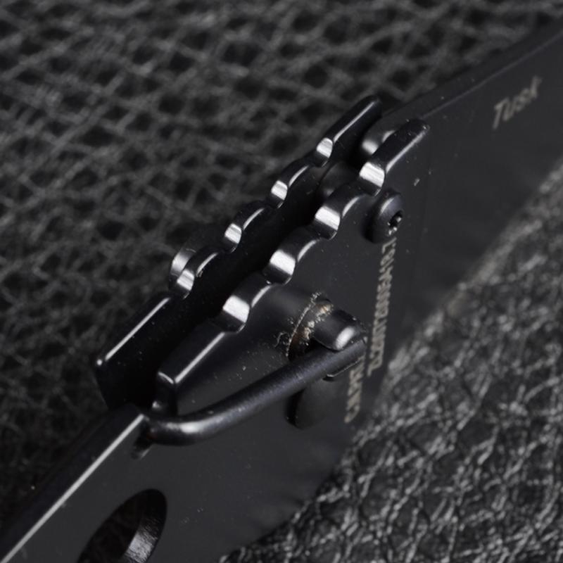 Нож TEKUT Tusk LK5261B (длина: 13.9cm, лезвие: 4.7cm), чёрный