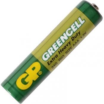 Батарейка солевая AAA Greencell (24G, LR03) GP 1.5V