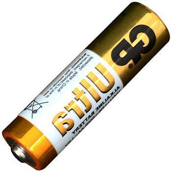 Батарейка щелочная, Alkaline AA Ultra (15AU, LR6) GP 1.5V