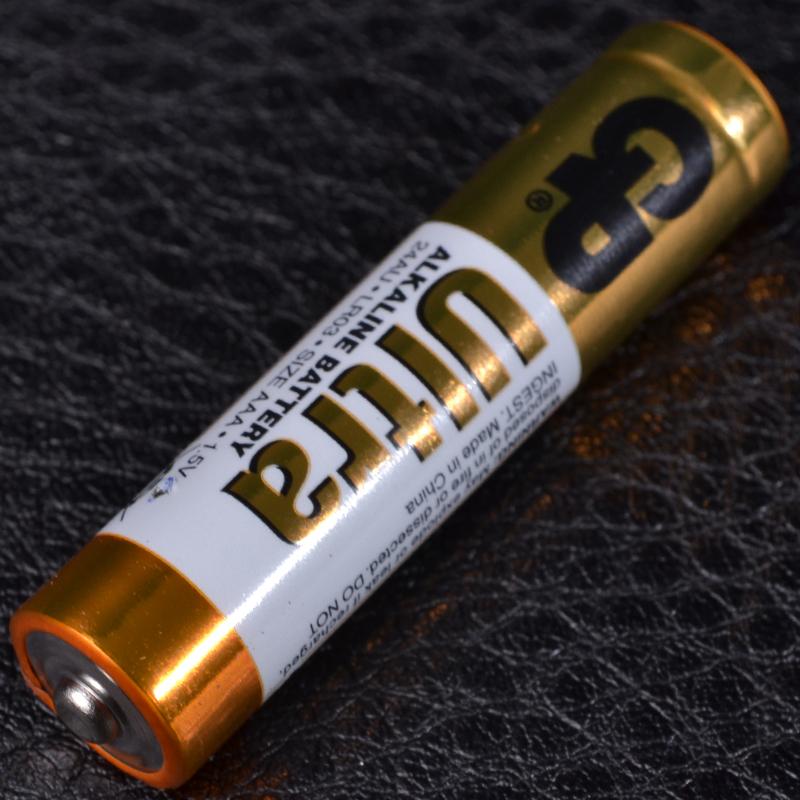 Батарейка щелочная, Alkaline AAA Ultra (24AU, LR03) GP 1.5V