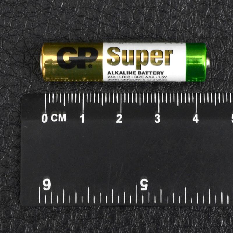Батарейка щелочная, Alkaline AAA (24A, LR03) GP 1.5V