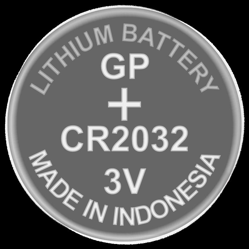 Батарейка дисковая литиевая CR2032 GP 3V
