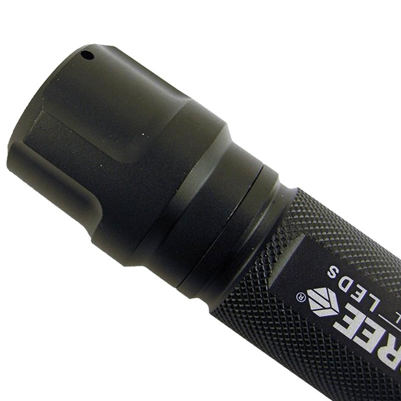 Фонарь TrustFire C8-T6 (Cree XM-L2, 1200 люмен, 5 режимов, 1x18650), черный