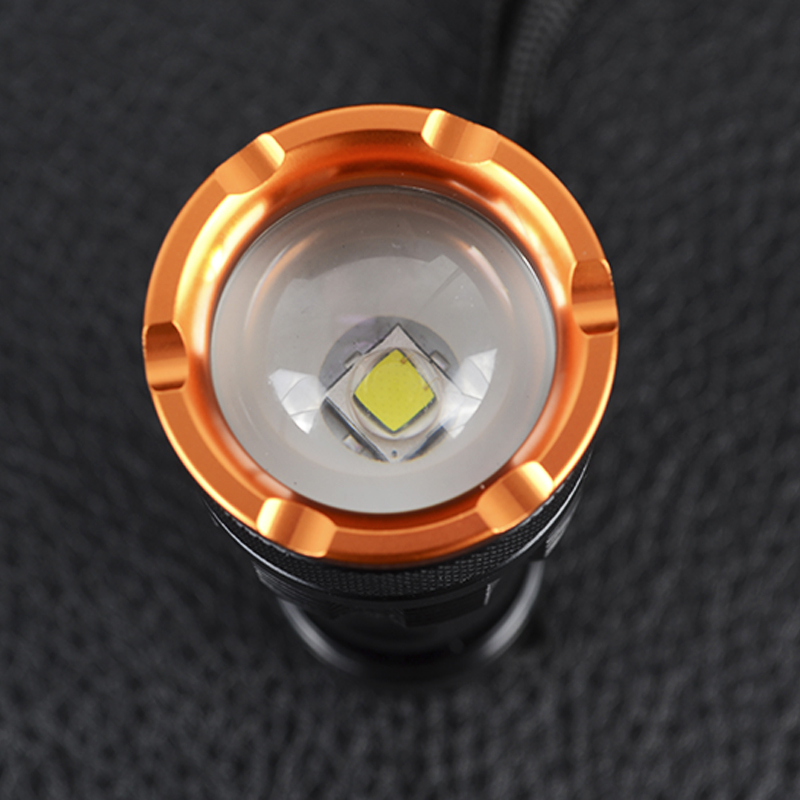 Фонарь фокусируемый TrustFire Z3 (Cree XM-L, 1000 люмен, 5 режимов, 1x18650/3xAAA)