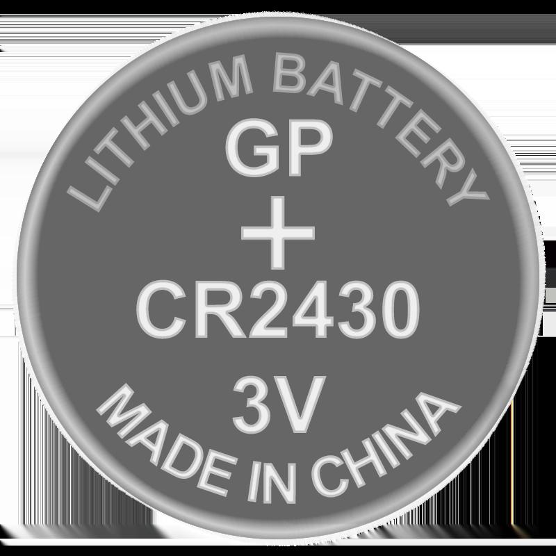 Батарейка дисковая литиевая CR2430 GP 3V