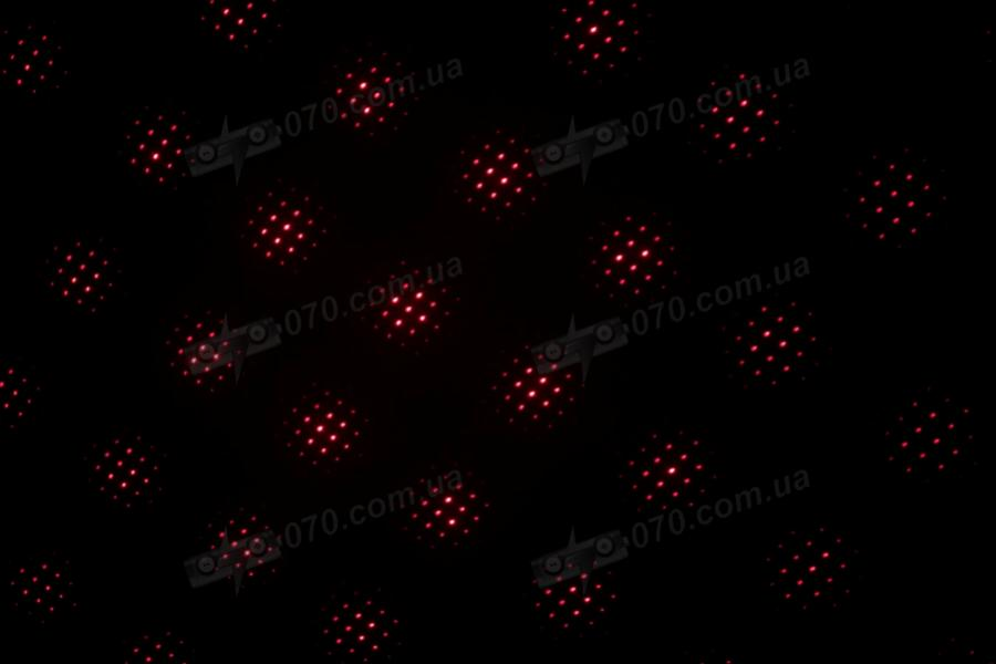 Красная лазерная указка BOB Laser BRP-3010-5 (650nm, 100mW, 2xAAA) + 5 насадок