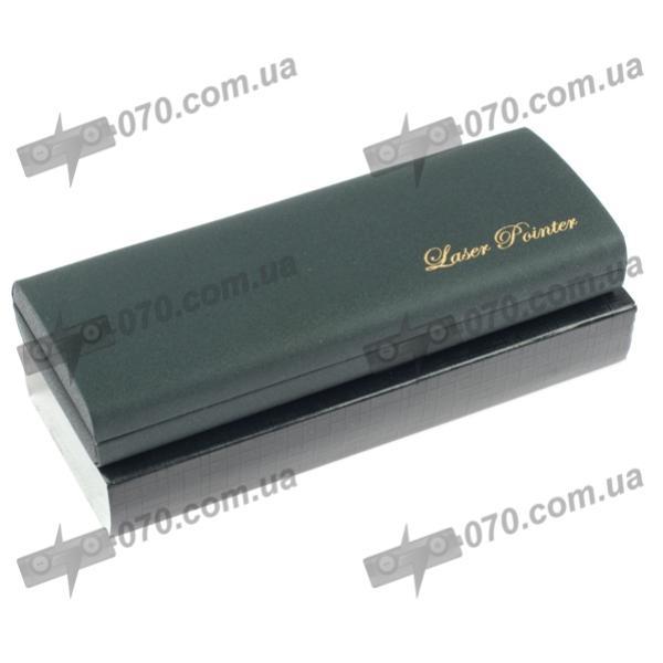 Синяя лазерная указка BOB Laser BBP-3032 (405nm, 100mW, 2xAAA), черная с золотом