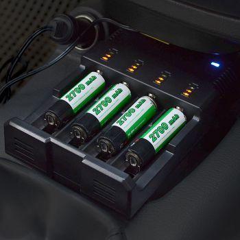 Адаптер 12V Nitecore в прикуриватель автомобиля для зарядных Intellicharger i2, i4, D2, D4