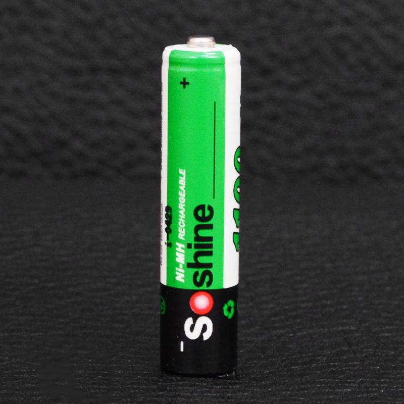 Аккумулятор никель-металлогидридный Ni-MH AAA (R03) Soshine 1.2V (1100mAh)