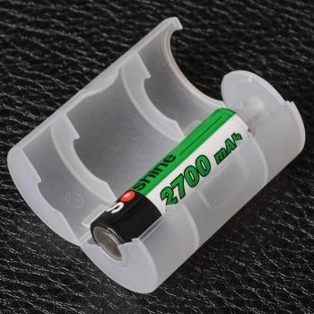 Переходник конвертор Soshine для аккумуляторов (1xAA - D size)