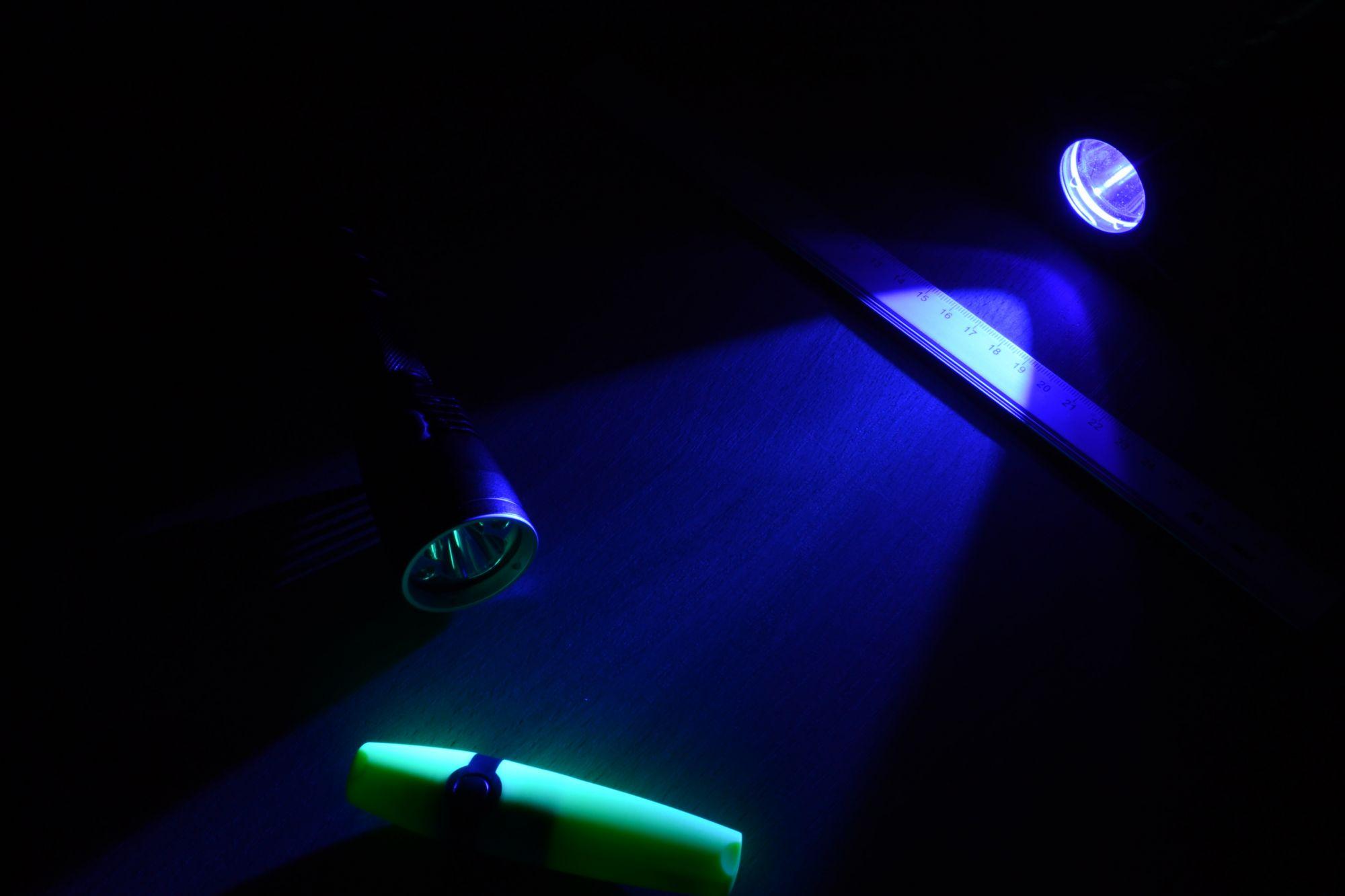 Диффузор фильтр для фонарей Nitecore NFB60 (60mm), синий