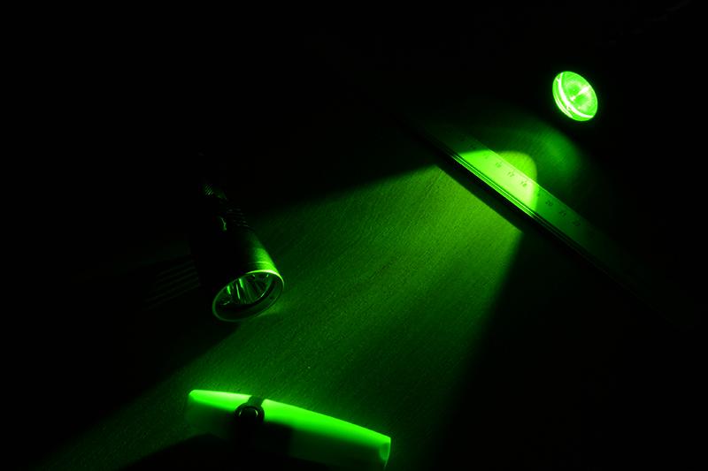 Диффузор фильтр для фонарей Nitecore NFG25 (25mm), зеленый