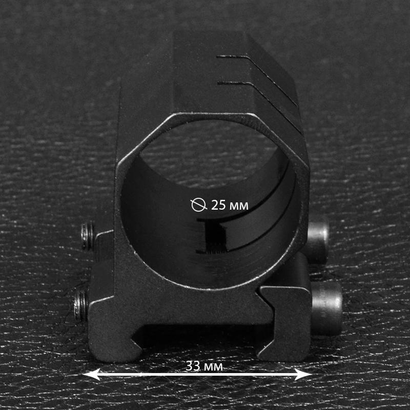 Крепление на оружие на планку Вивер-Пикатинни GM-022 (25mm)