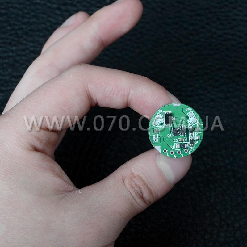 Цифровой драйвер светодиода для фонарей (TrustFire D003), 5 режимов
