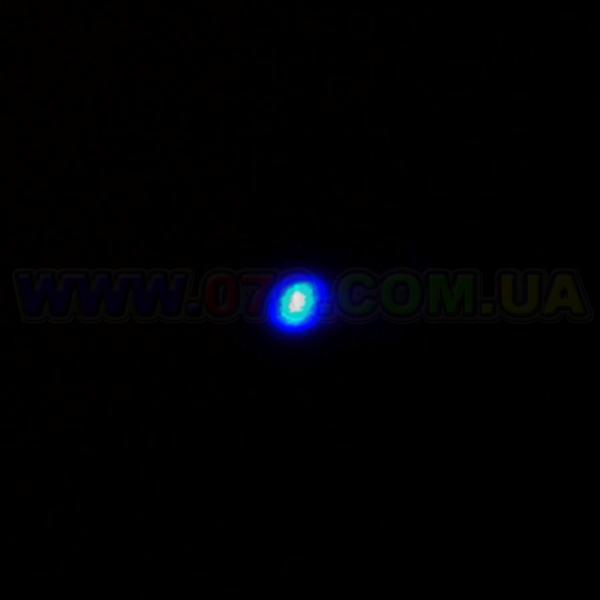 Синяя лазерная указка BOB Laser BBP-3032 (405nm, 50mW, 2xAAA), черная с золотом