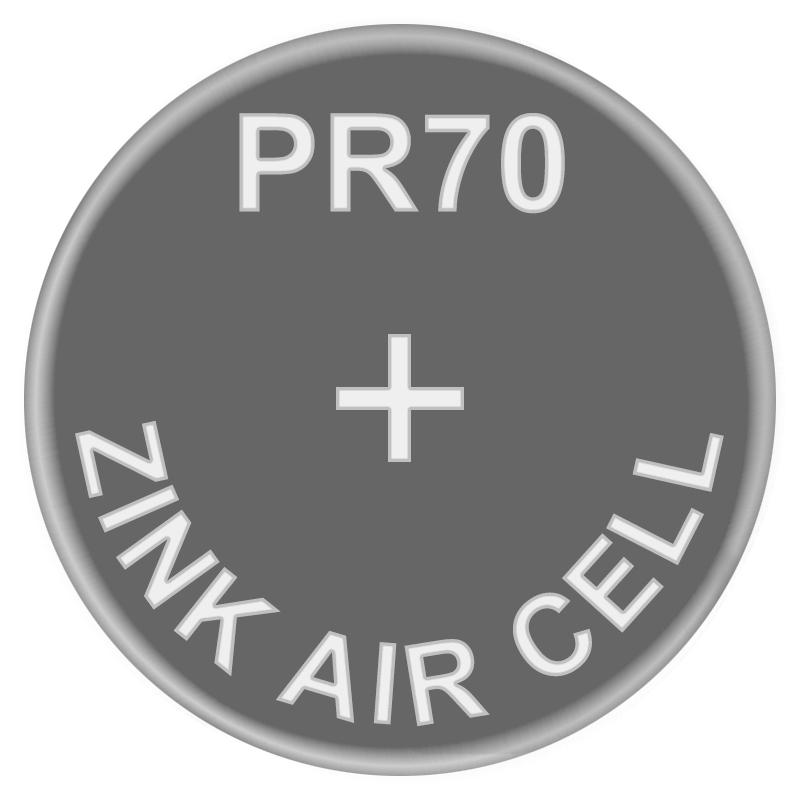 Батарейка для слуховых аппаратов Zinc Air PR70 (AC10, DA230) GP 1.4V