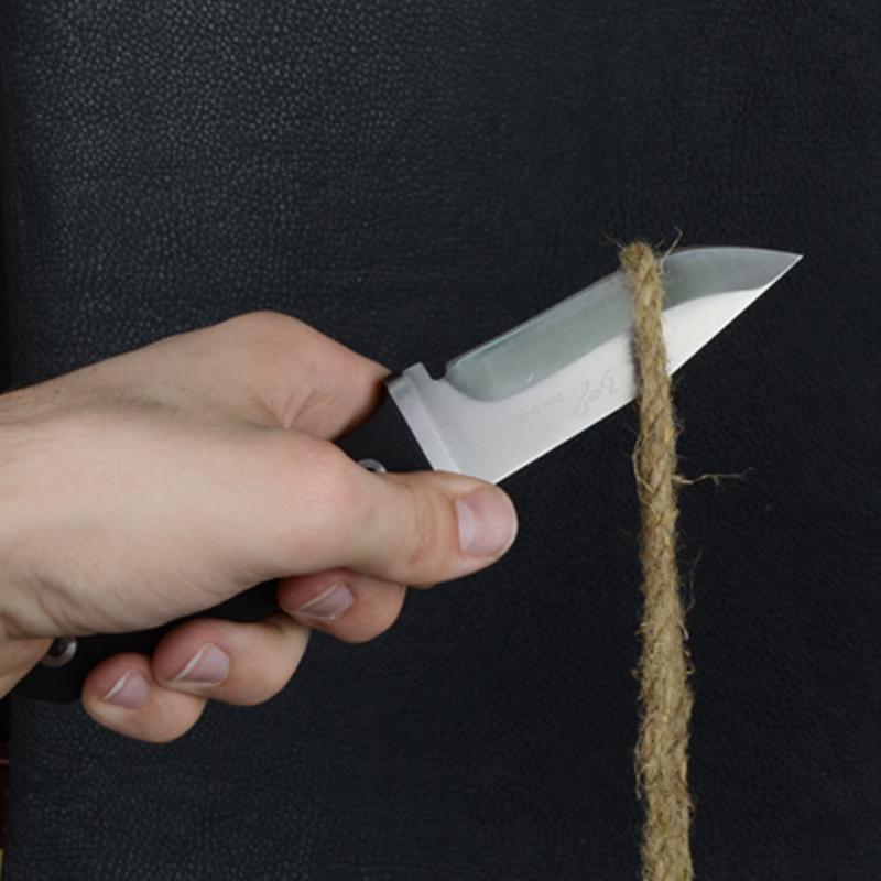 Нож Gerber Carbon Fixed Blade, рукоятка карбон (длина: 21.4cm, лезвие: 10.5cm), прямой