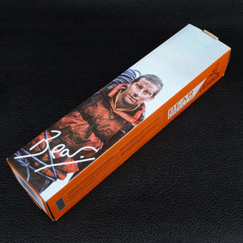 Нож Gerber Ultimate Fixed Blade Knife, в ножнах + огниво и точилка (длина: 25.4cm, лезвие: 12,2cm)