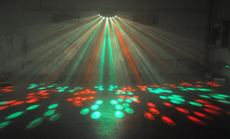 Световая светодиодная установка спецэффектов LED1270 (RGBWY, 36Вт, 7 линз)
