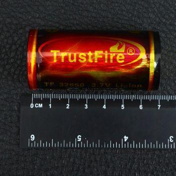 Аккумулятор литиевый Li-Ion 32650 TrustFire 3.7V (6000mAh), защищенный