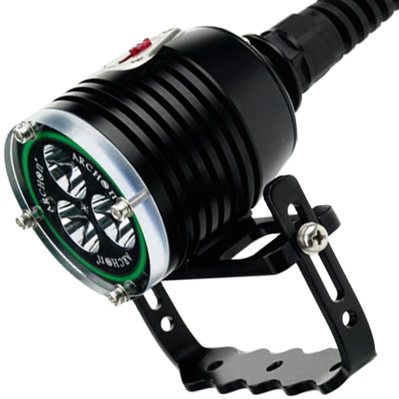 Подводный прожектор, фонарь Archon WH36 (3xCree XM-L U2, 3000 люмен, 3 режима, 3x26650), комплект