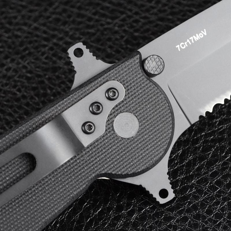 Нож TEKUT Ares A LK5256A (длина: 23.6cm, лезвие: 9.6cm), в подарочной коробке
