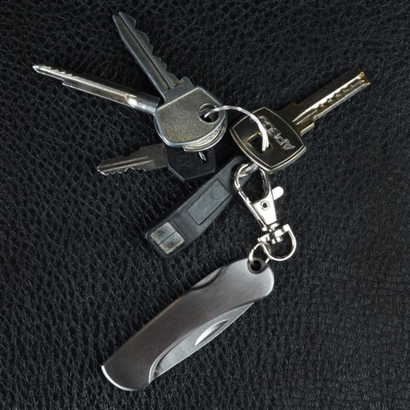 Нож TEKUT Silver LK3882 (длина: 12.0cm, лезвие: 5.1cm)