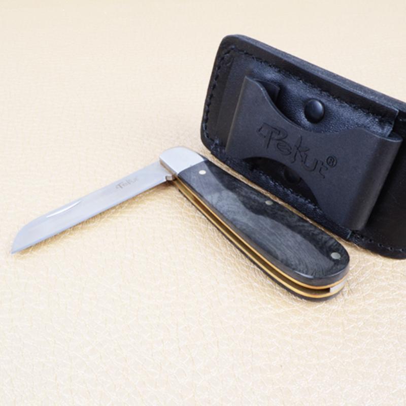 Нож TEKUT Storm MK5008B (длина: 15.4cm, лезвие: 6.5cm), чёрный, в подарочной коробке