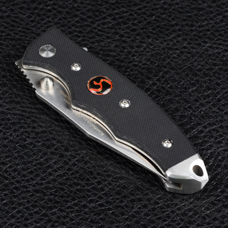 Нож складной KnifeDAO Medium Shark LK9005 (длина: 18.6cm, лезвие: 7.8cm), в блистере