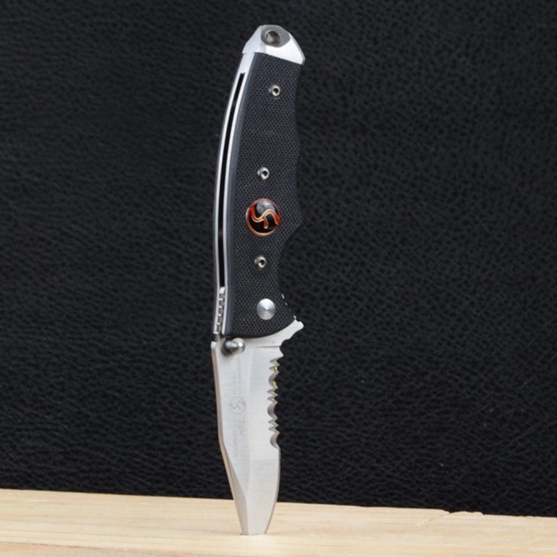 Нож KnifeDAO Mini Shark LK9002 (длина: 16.5cm, лезвие: 6.9cm), в блистере