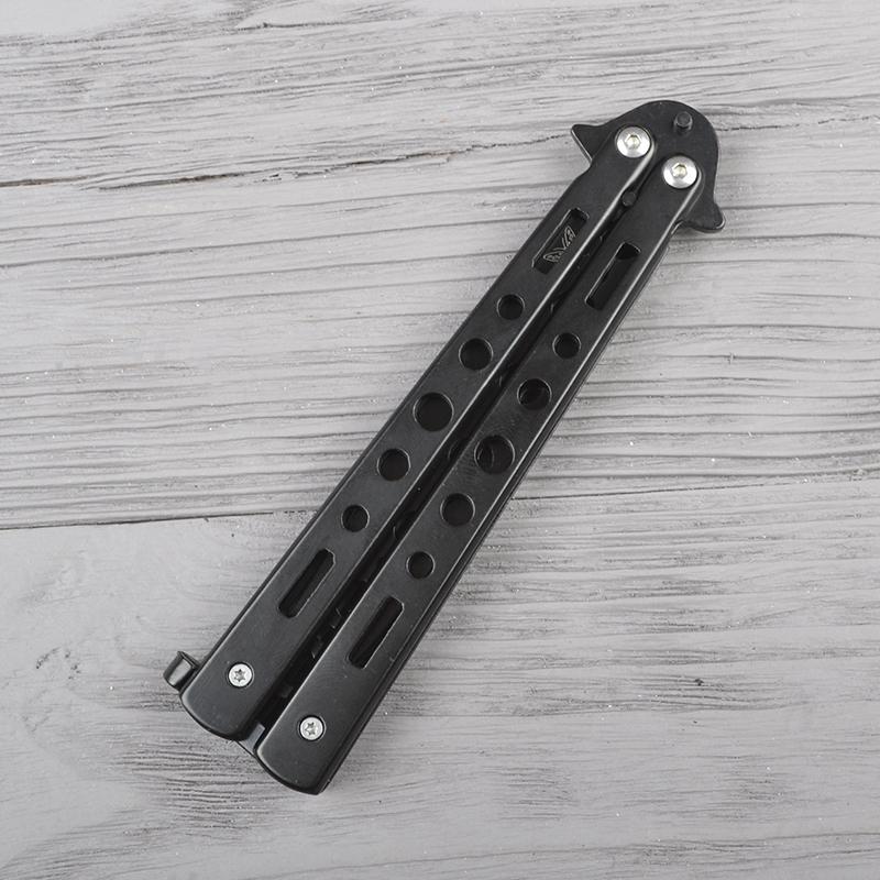 Нож бабочка тренировочный Benchmade (длина: 22.5cm, лезвие: 10.3cm), черный