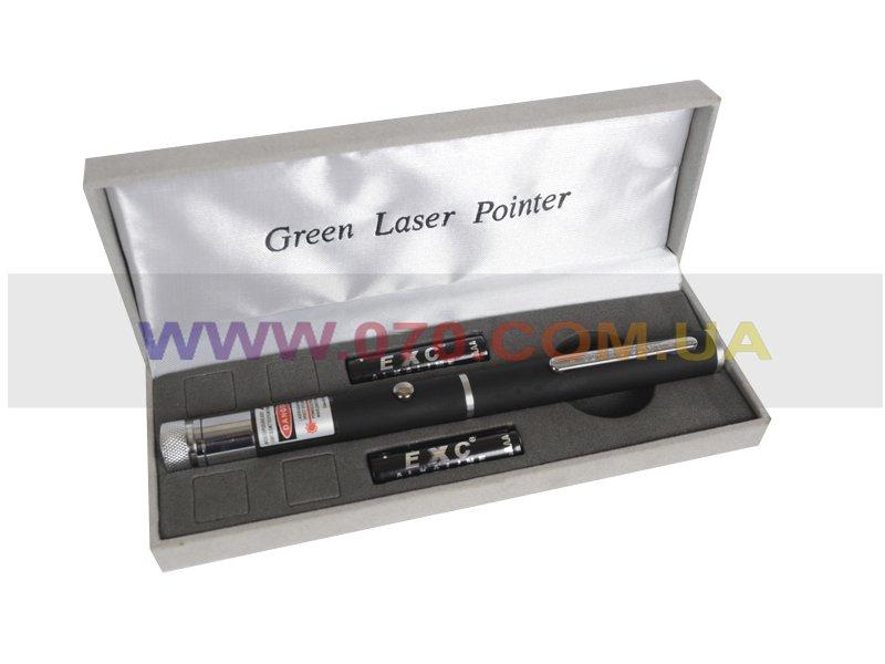 Красная лазерная указка BOB Laser BRP-3010-1 (650nm, 100mW, 2xAAA), + калейдоскоп