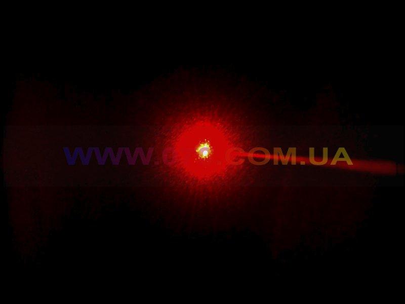 Красная лазерная указка BOB Laser BRP-3010-5 (650nm, 200mW, 2xAAA) + 5 насадок