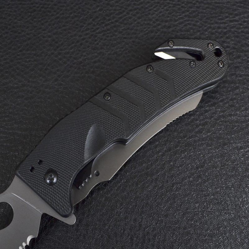 3 в 1 - Нож складной + пила + стропорез FOX FKMD 49 Capricorno (длина: 23.0сm, лезвие: 9.5cm),
