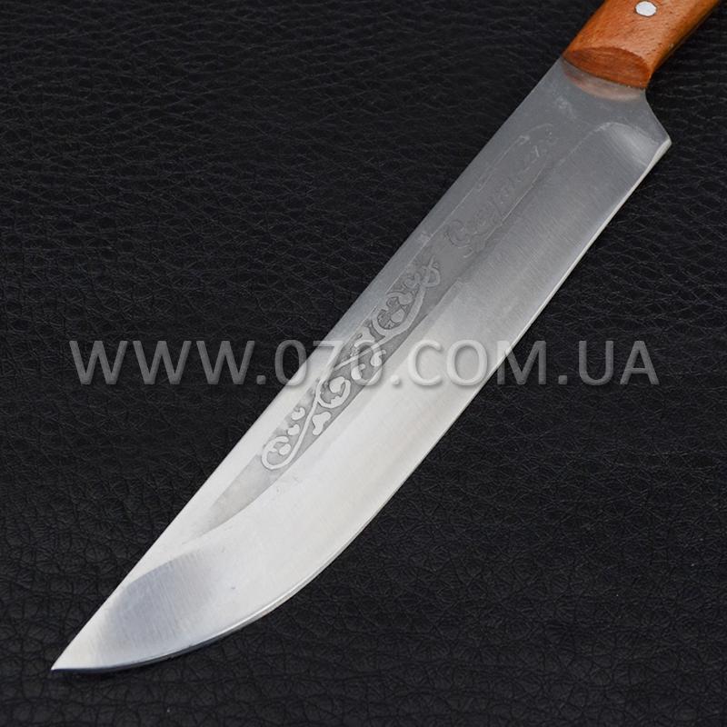 Нож бытовой, кухонный Спутник (240 х 25 х 1.5mm)