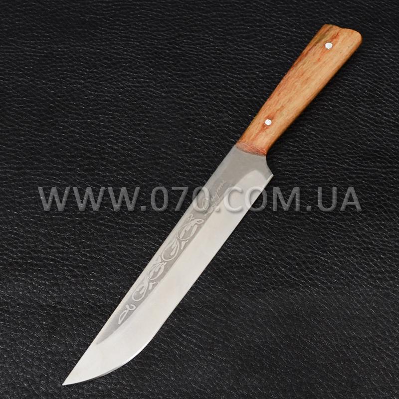 Нож бытовой, кухонный Спутник (270 х 28 х 1.5mm)