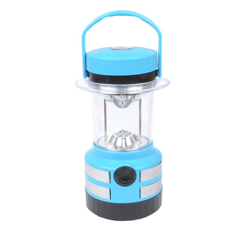 Кемпинговый фонарь (14 белых +5 цветных LED, 250 люмен, 3 режима, 4xD)