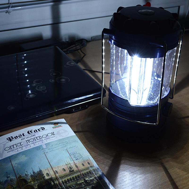 Кемпинговый фонарь (18 LED, 260 люмен, регулировка яркости, 3xD)