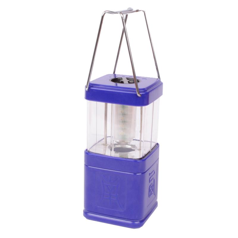 Кемпинговый фонарь, раскладной (11 LED, 150 люмен, регулировка яркости, 4xAA)
