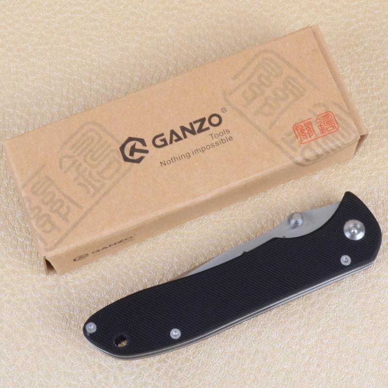 Нож складной Ganzo G714 (длина: 200мм, лезвие: 85мм)