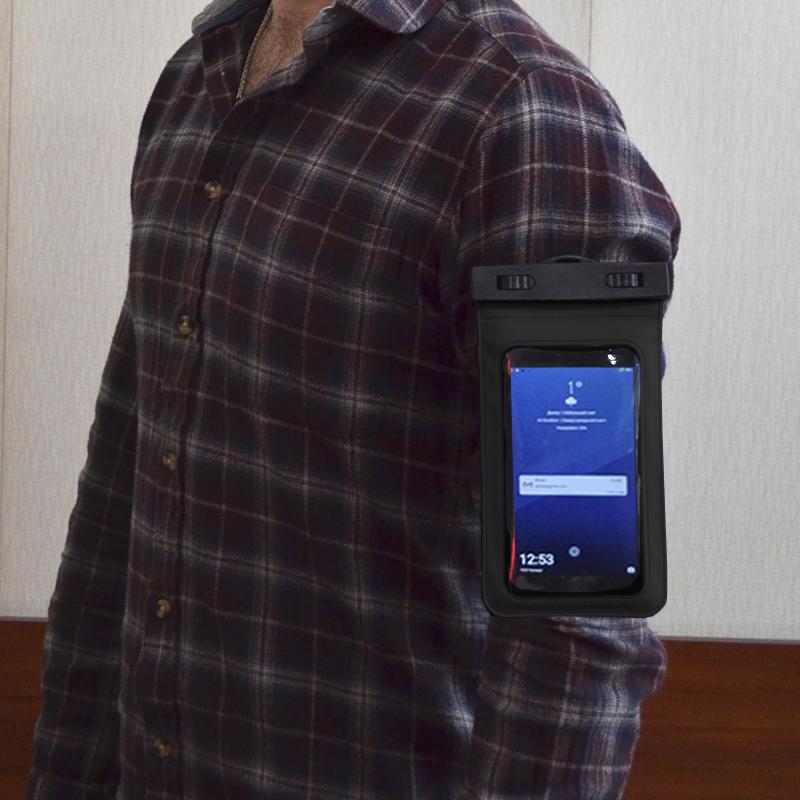 Водонепроницаемый чехол для телефонов A003 (c двумя креплениями и наушниками)